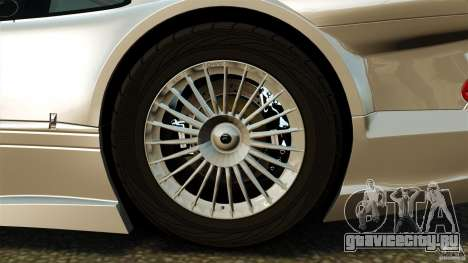 Mercedes-Benz CLK GTR AMG для GTA 4 вид сзади