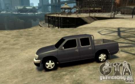 Nissan Pickup 2005 для GTA 4
