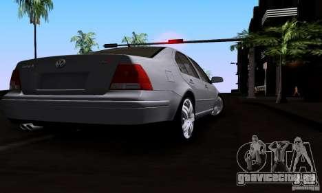 Volkswagen Bora 1.8T для GTA San Andreas вид сзади слева