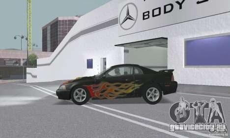 Ford Mustang GT 2003 для GTA San Andreas двигатель