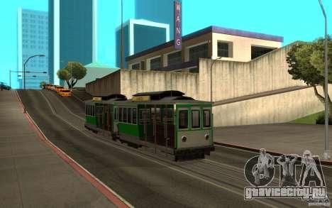 New tram mod для GTA San Andreas