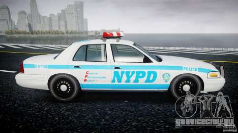Ford Crown Victoria 2003 v.2 Police для GTA 4 вид изнутри