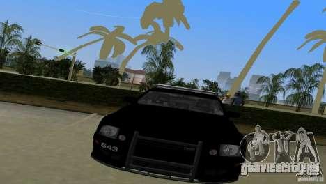 Saleen S281 Barricade 2007 для GTA Vice City вид сзади слева