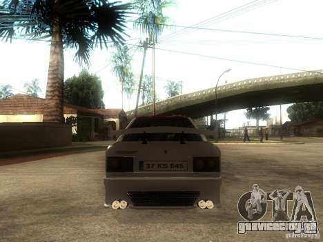 Renault 9 GTD для GTA San Andreas вид сзади слева