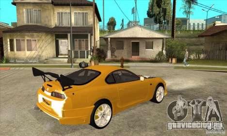 Toyota Supra D1GP для GTA San Andreas вид справа