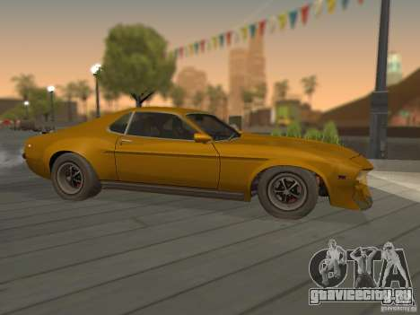 SPEEDEVIL from FlatOut 2 для GTA San Andreas вид слева
