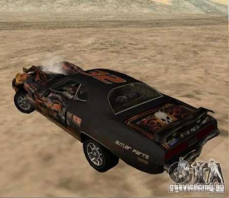 Bullet from FlatOut 2 для GTA San Andreas вид справа
