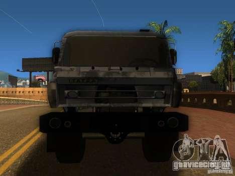 Tatra 815 для GTA San Andreas вид сзади