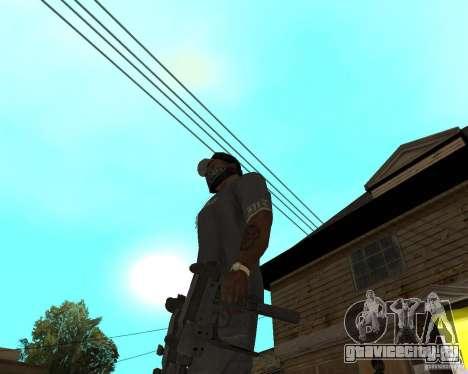 Mini-Uzi для GTA San Andreas третий скриншот