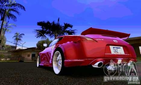 Nissan 370Z для GTA San Andreas