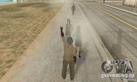 SuperClon (КЛОНИРОВАНИЕ ЛЮДЕЙ В SAN ANDREAS) для GTA San Andreas четвёртый скриншот