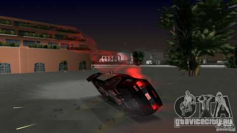 Saleen S281 Barricade 2007 для GTA Vice City вид сбоку