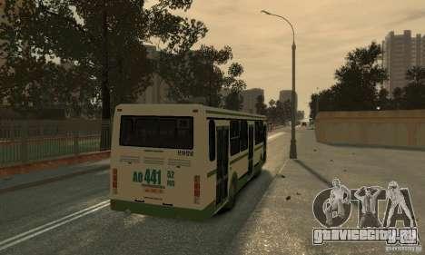 ЛиАЗ 5256.26 v3.1 для GTA 4 вид сзади
