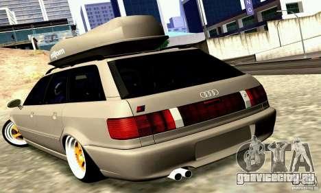 Audi RS2 Avant Thug для GTA San Andreas вид сзади слева