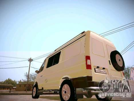 ГАЗ 2217 Бизнес для GTA San Andreas вид справа