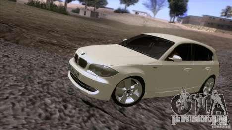BMW 120i 2009 для GTA San Andreas вид слева