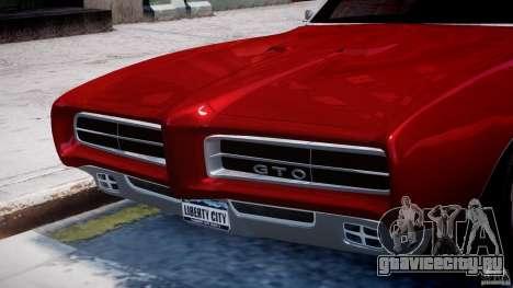 Pontiac GTO 1965 v1.1 для GTA 4 колёса