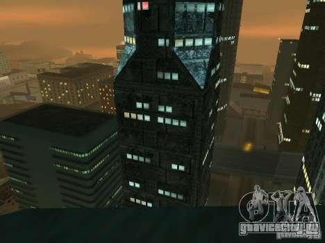 Новые текстуры небоскрёбов LS для GTA San Andreas пятый скриншот