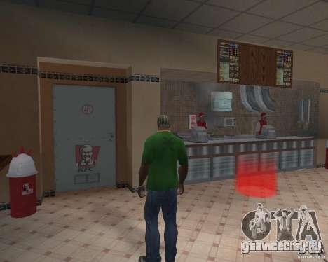 Новые текстуры закусочных и магазинов для GTA San Andreas второй скриншот