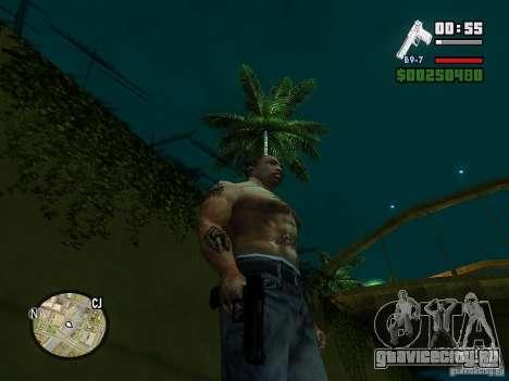 Carbon Desert Eagle для GTA San Andreas третий скриншот