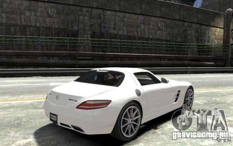 Mercedes-Benz SLS AMG 2011 v3.0 для GTA 4 вид справа