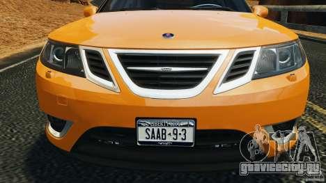 Saab 9-3 Turbo X 2008 для GTA 4 вид снизу
