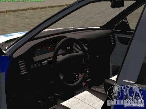 Ваз 2170 Милиция для GTA San Andreas вид сзади слева