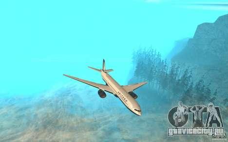 Boeing 777-300ER для GTA San Andreas
