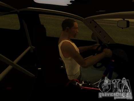 Nissan 240sx Street Drift для GTA San Andreas вид сбоку