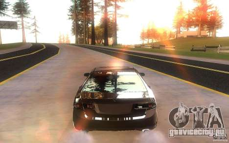 Honda Accord для GTA San Andreas вид справа