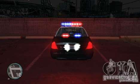 Ford Crown Victoria Police для GTA 4 вид слева
