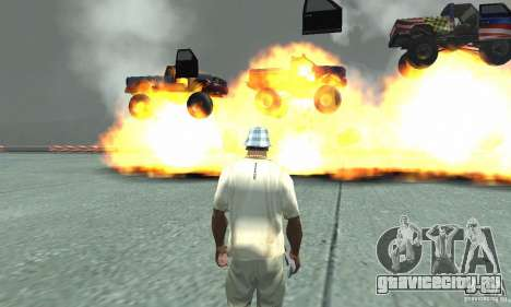 Атомная бомба для GTA San Andreas