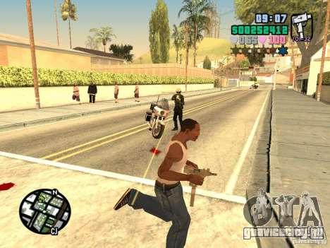 Vice City Hud для GTA San Andreas пятый скриншот