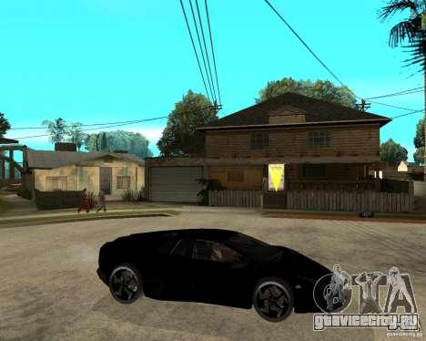 Lamborghini Reventon для GTA San Andreas вид справа