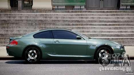 BMW M6 2010 v1.5 для GTA 4 вид слева