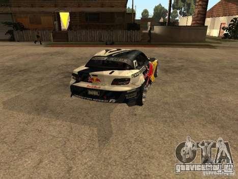 Mazda RX-8 RedBull для GTA San Andreas вид сзади слева