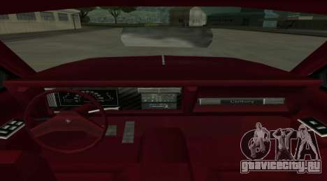 Century Nebula для GTA San Andreas вид сзади слева