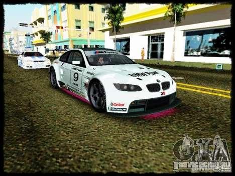 BMW M3 GT2 для GTA Vice City вид сзади