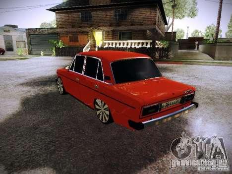 Ваз 2106 Fanta для GTA San Andreas вид сзади слева