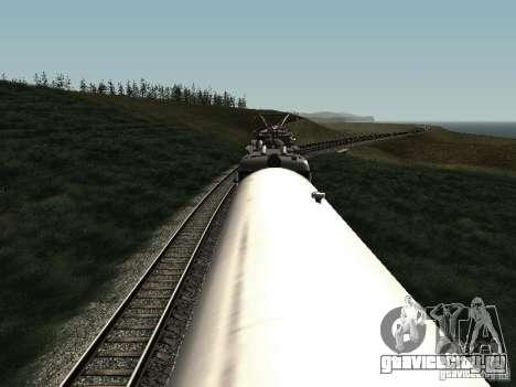 Рефрежираторный вагон Дессау №2 для GTA San Andreas вид изнутри