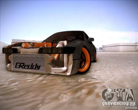 Nissan Silvia S13 Under Construction для GTA San Andreas вид сверху