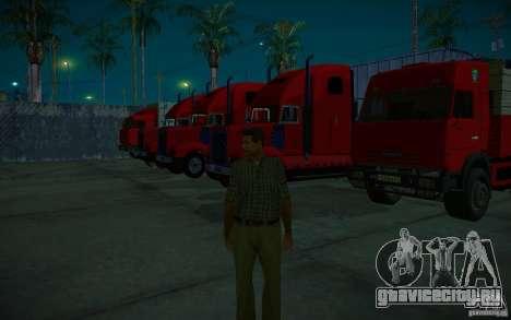 ENBSeries v1.0 By ГАЗелист для GTA San Andreas одинадцатый скриншот