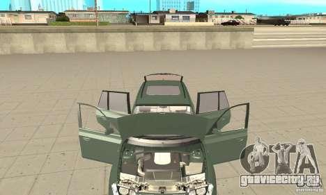 BMW X3 2.5i 2003 для GTA San Andreas вид изнутри