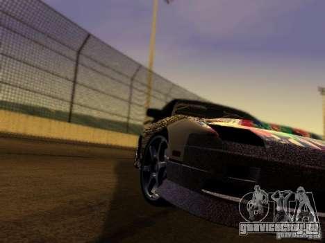 Nissan 240sx Street Drift для GTA San Andreas вид сзади