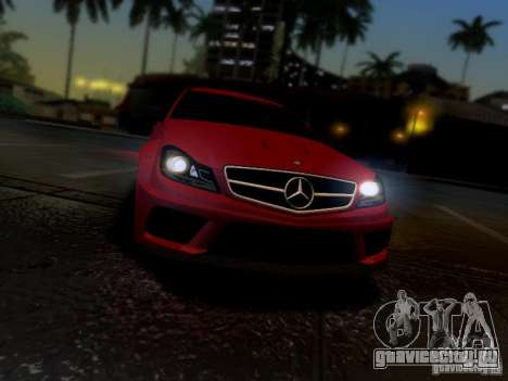 Mercedes Benz C63 AMG C204 Black Series V1.0 для GTA San Andreas вид справа