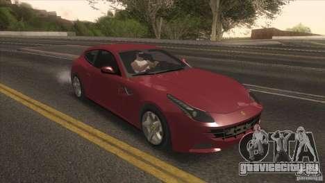 Ferrari FF 2011 V1.0 для GTA San Andreas вид слева