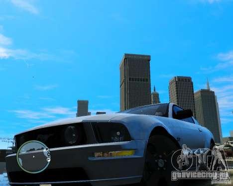 Ford Mustang GT 2005 v1.2 для GTA 4 вид справа