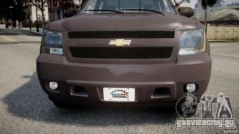 Chevrolet Tahoe Indonesia Police для GTA 4 вид изнутри