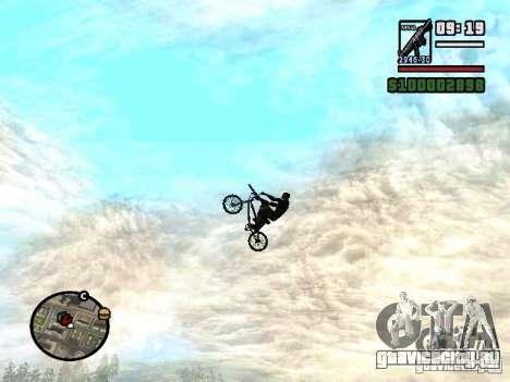 Летающие велосипеды для GTA San Andreas третий скриншот