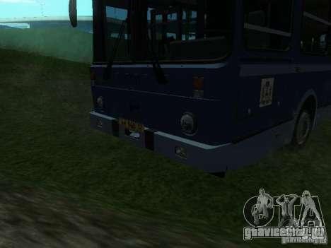 ЛиАЗ 5256-25 для GTA San Andreas вид изнутри